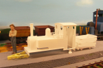TeeBee´s latest steamer for Gn15 scale.