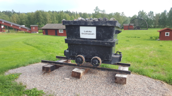 Ludvika Gruvmuseum (Ludvika Mining Museum) is also a collection and reconstruction how swedish mines looked like. They show several machines and buildings either moved here or newly made from old drawings. We have been here before so not so much in detail