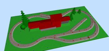 Same day as I got my MiniTrains track I contacted the man behind SCARM, the great FREE layout planning program for PC. I asked him to add MiniTrains new track system to his library of track makers, which he was kind to do. I got first beta version of ...