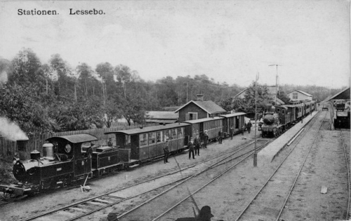01  -- the prototype at Lessebo station in 1905