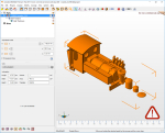 Learned a few new tricks with the Netfabb program today! Netfabb client exist as Free-Trial and Student version for 3 years. I use it for testing my stl files before upload to Shapeways. These two images shows before and after I tried the wall thickn....