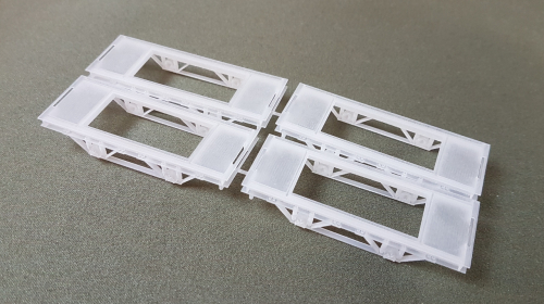 12mm gauge chassis, 4-pack
