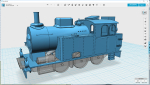 Freelance NG version of the swedish state railways K22 loco type. Intended for 0m (1/45 on 22.4mm) track, but