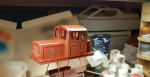 Not much done this weekend, but got some paint on the screen house and Z4p loco this evening.