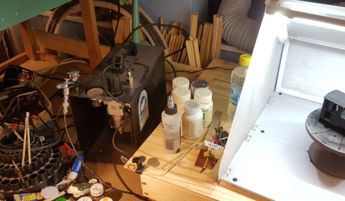 190005  -- my iwata airbrush and compressor