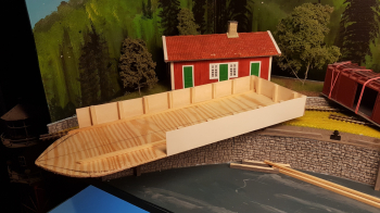 Started on the Göteborgspråm yesterday (Gothenburg barge). Hope to continue this weekend. Fun to do some ordinary modeling for once.. Will only print a few details to put on deck, the rest will be hand made. I visited Gothenburg Maritime Center in Oct..