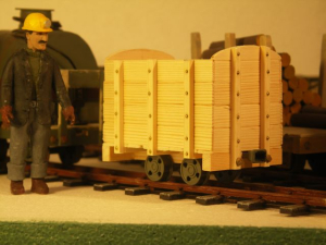 coal wagons.