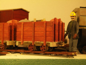 this month I have continued on the coal wagon series.