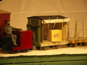 Cordite wagons, this months project.