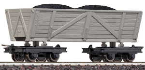 Roco 34510 -- The HOe bogie wagon from Roco which was the inspiration for this wagon