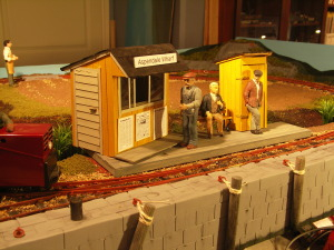 Things done during October. Aspendale Wharf station is finished and the General Store is coming nicely.