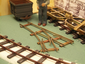 This month I have assembled more skips and worked on prefabricated tracks.