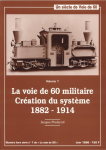 Book Reviews -- France : La voie de 60 militaire Creation du système 1882-1914.