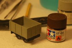 How to make that first little wagon.
