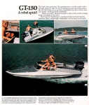 Glastron Boats. The old favourite, GT150.