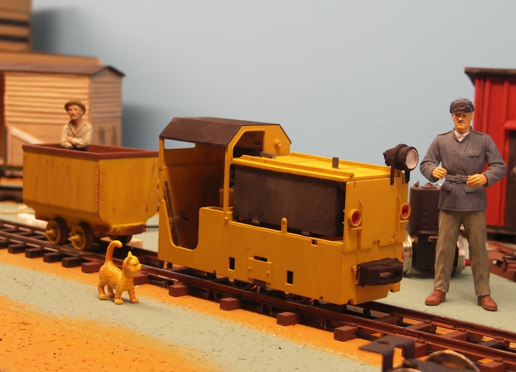 log February 2012 - Mine loco BBA 360 in 1/17 scale